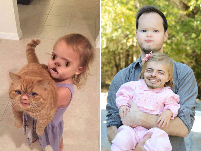 funny and terrifying face swaps