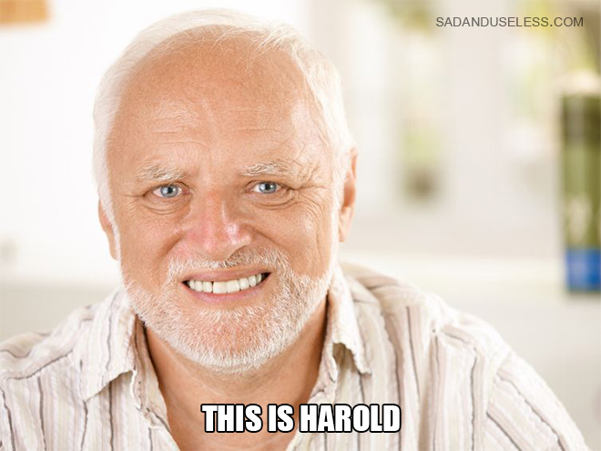 This is Harold.