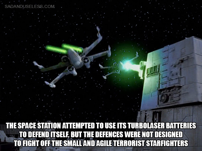Was The Death Star Attack An Inside Job
