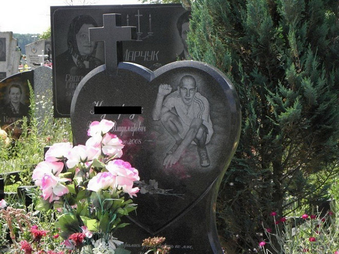 Gravestones Of The Russian Mafia