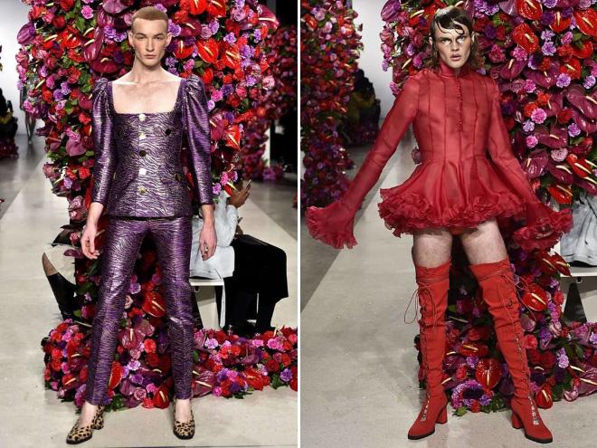 Latest Men S Fashion At New York Fashion Week