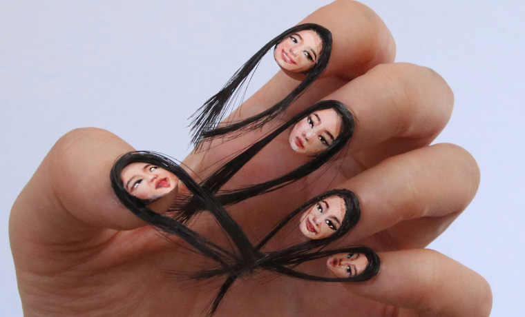 """Brace Yourself, Because """"Hair Nails"""" Are Now a Thing"""