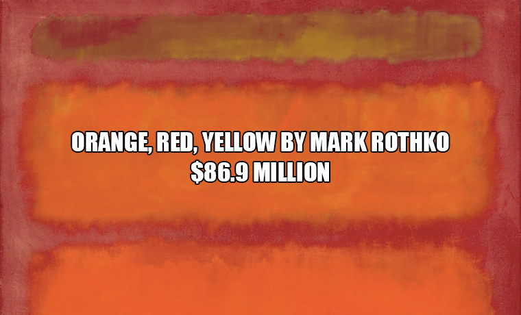 15 Ridiculous Paintings That Sold For Millions of Dollars