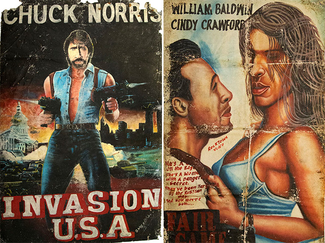 Hand Painted Movie Posters From Africa-7040