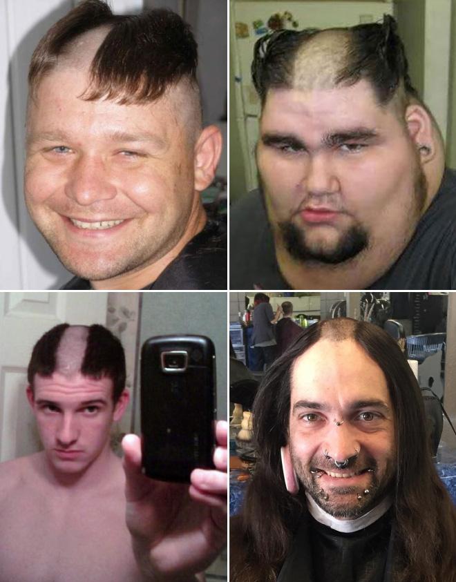 Reverse Mohawk Awkward Instagram Haircut Trend