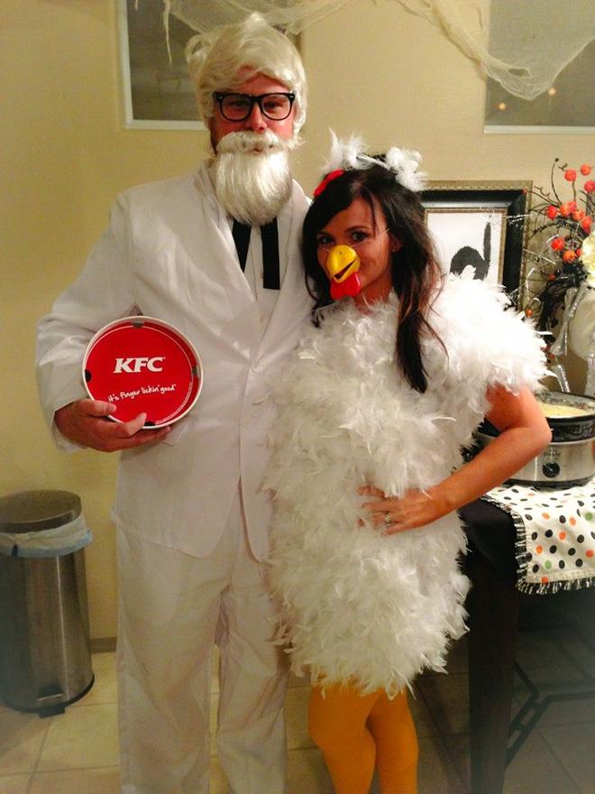 KFC Halloween costume.