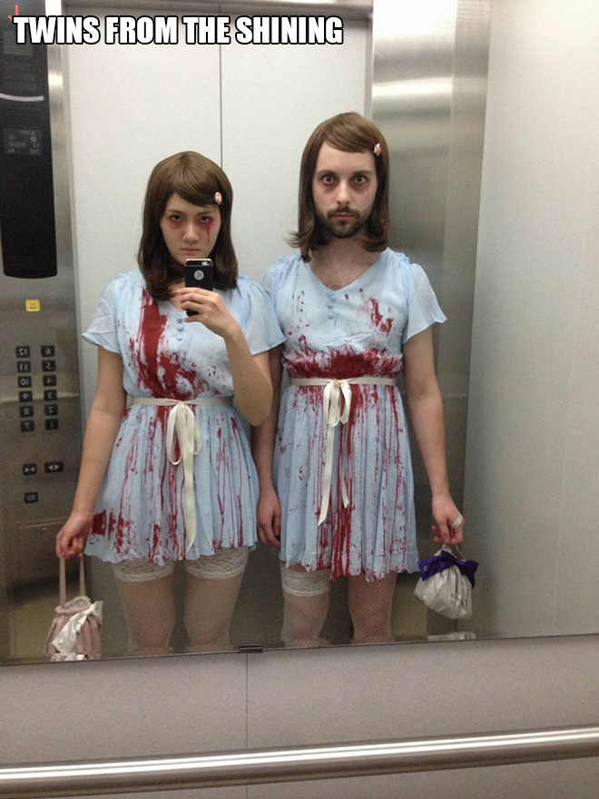 Twins from The Shining Halloween costume.