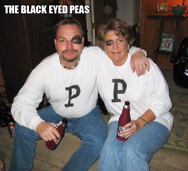 The Black Eyed Peas Halloween costume.