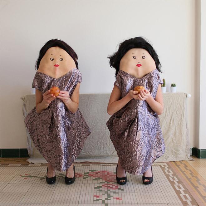 Creepy twins.