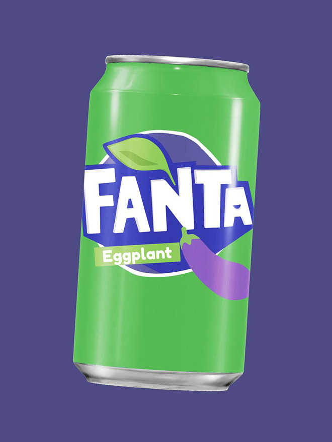 Ever tried Eggplant Fanta?