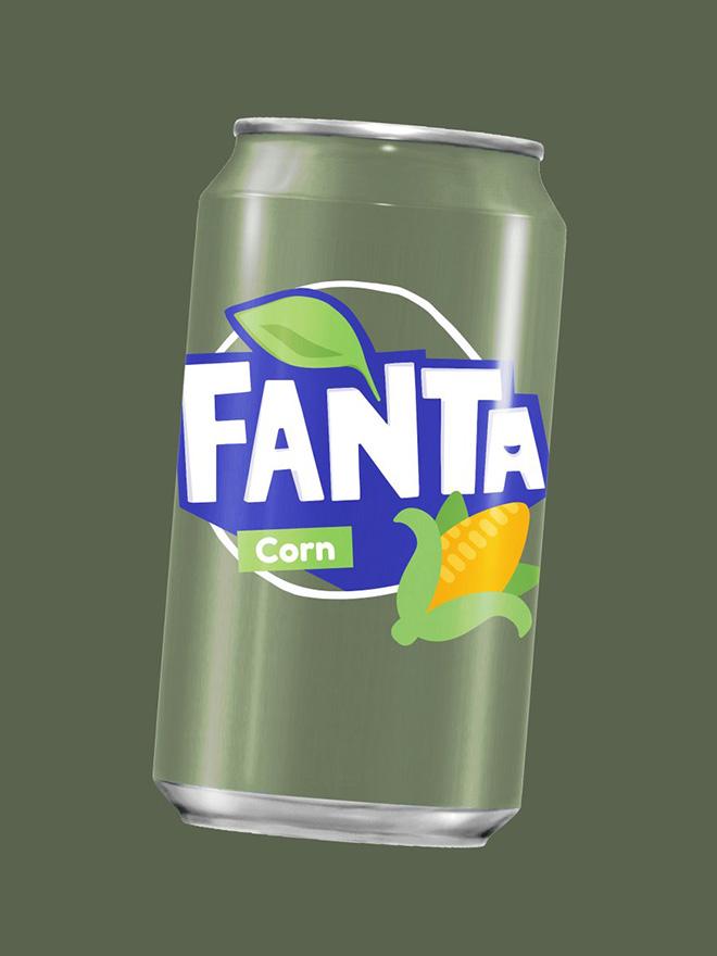Delicious Corn Fanta.