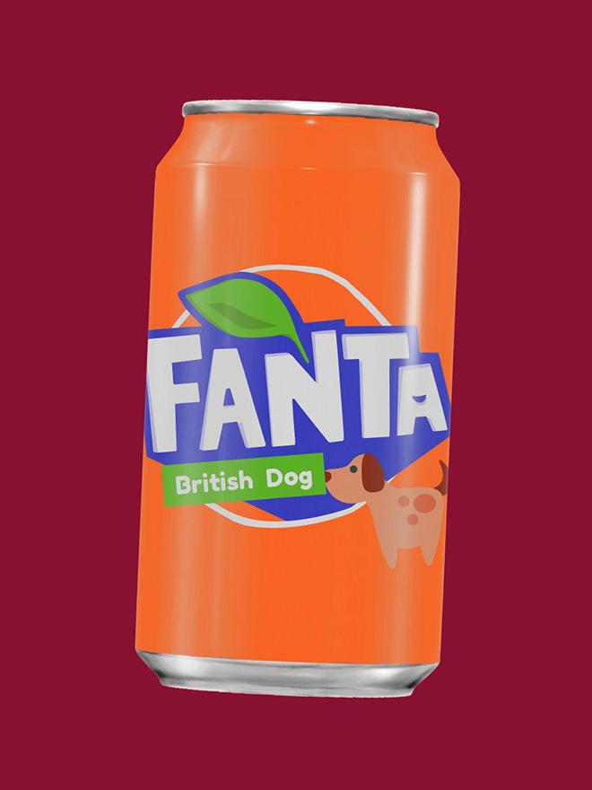 Try the new British Dog Fanta!