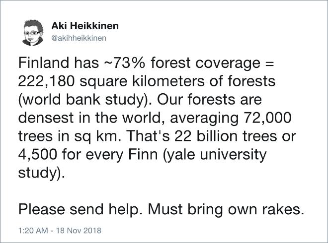 Please send help. Must bring own rakes.