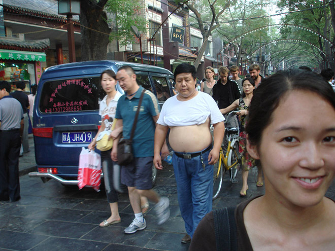 She loves his Beijing bikini.