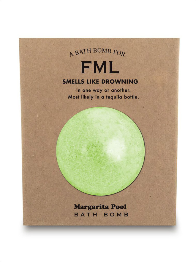 Smells like FML.