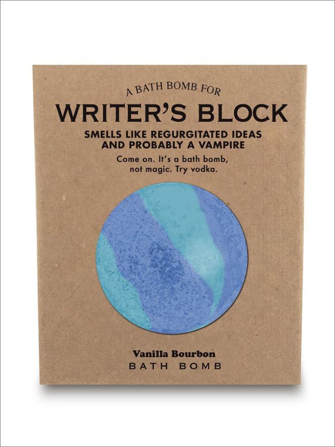 Smells like writer's block.