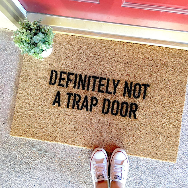 NOT a trap door.