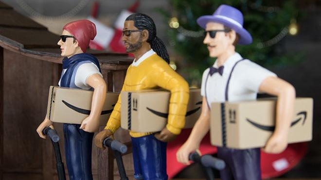 Amazon Prime gifts to Jesus.