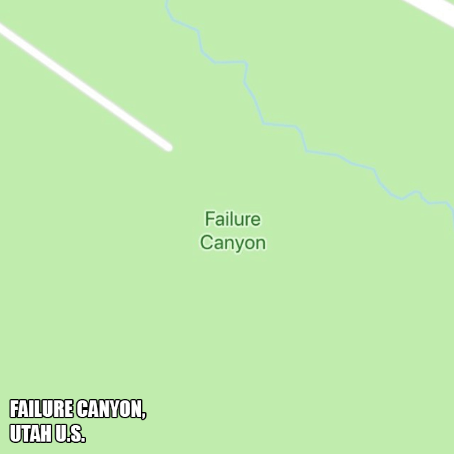 Failure Canyon.