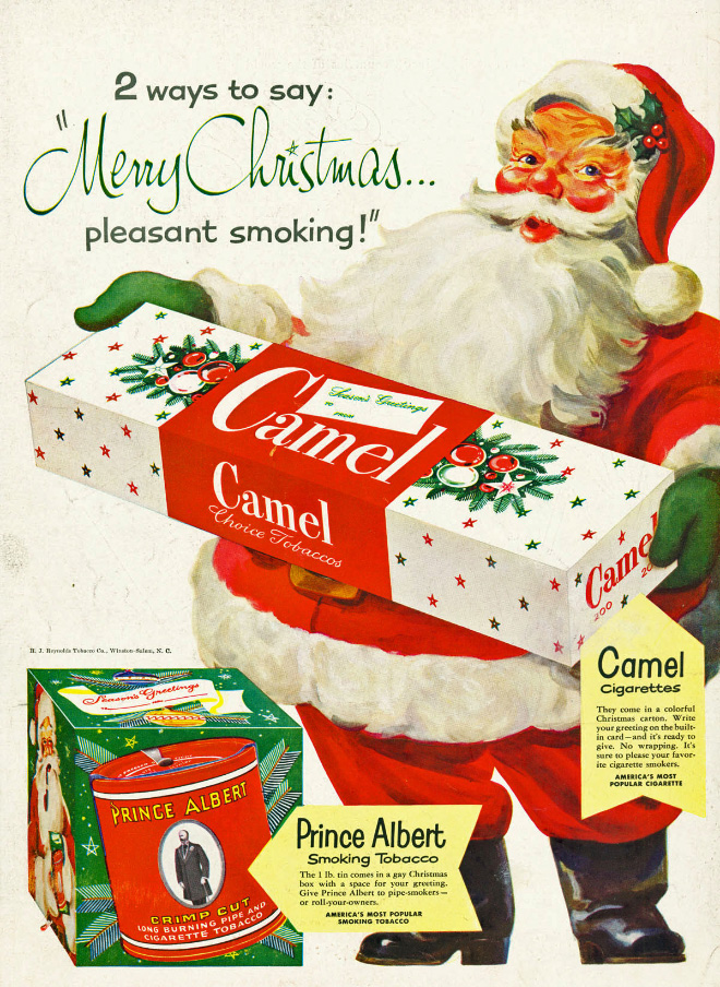 Merry Christmas! Pleasant smoking!