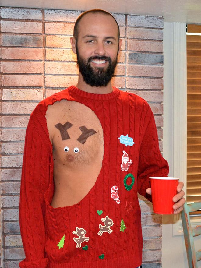 Hilarious Christmas sweater.