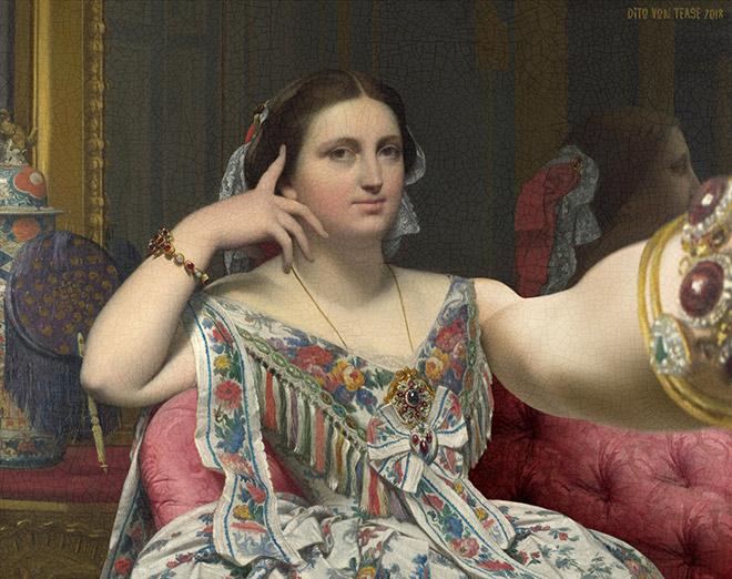 Madame Moitessier selfie.