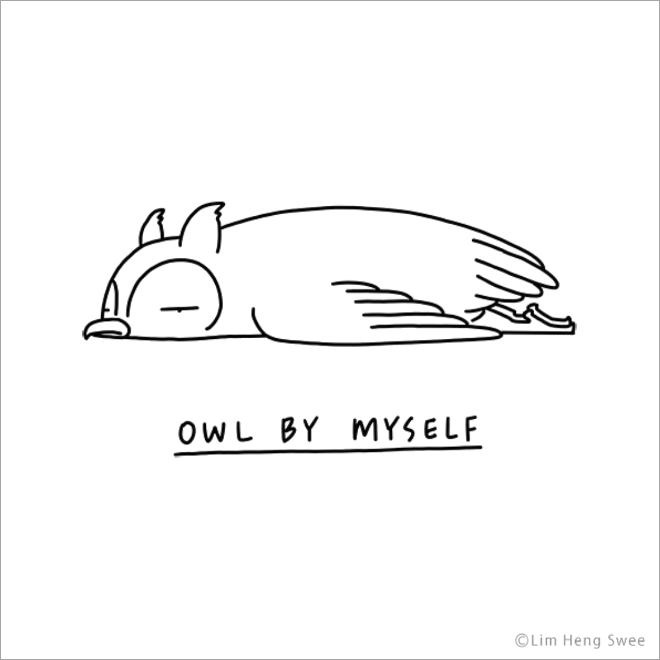 Owl by myself.