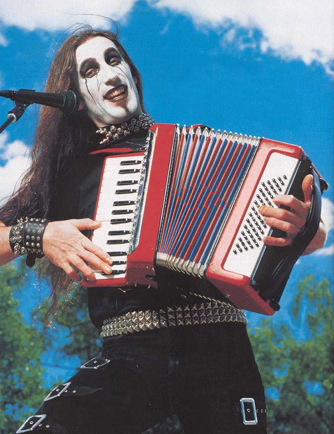 The weirdest heavy metal guy ever.