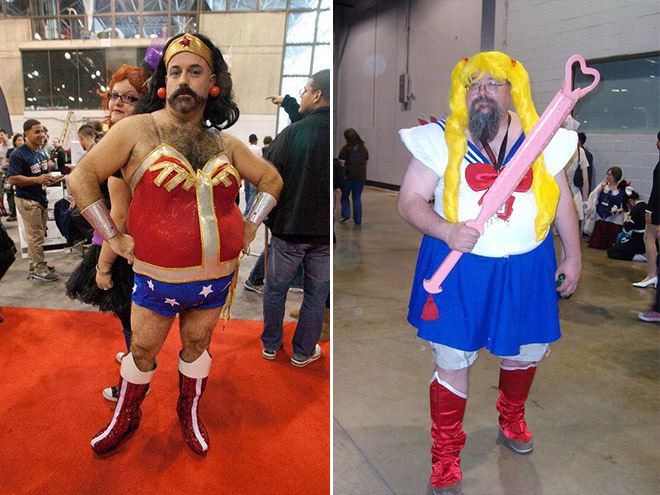 Hilarious cosplay fails.