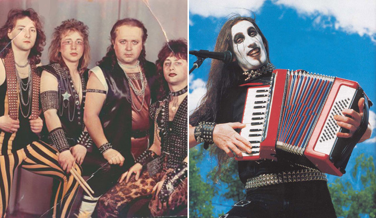 Awkward Metal Band Photos That Are So Bad, They're Good