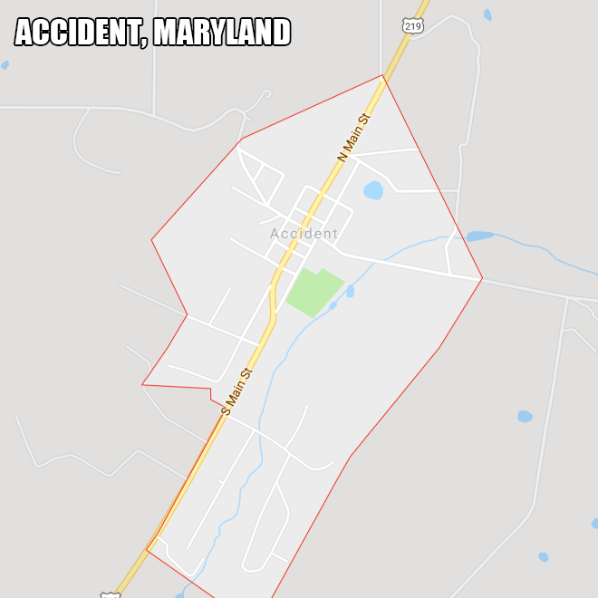 Accident, Maryland.