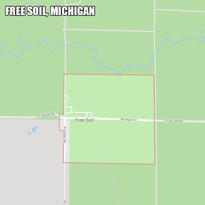 Free Soil, Michigan.