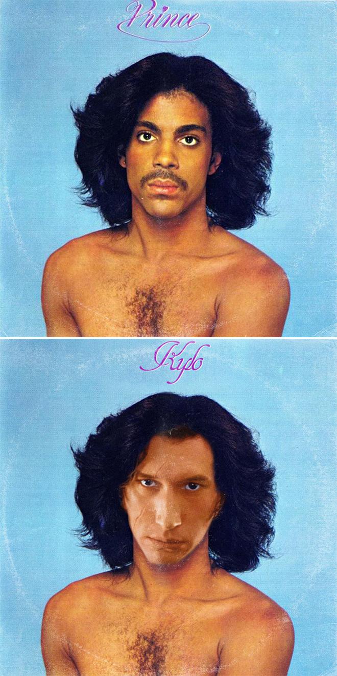 Prince and Star Wars mashup.