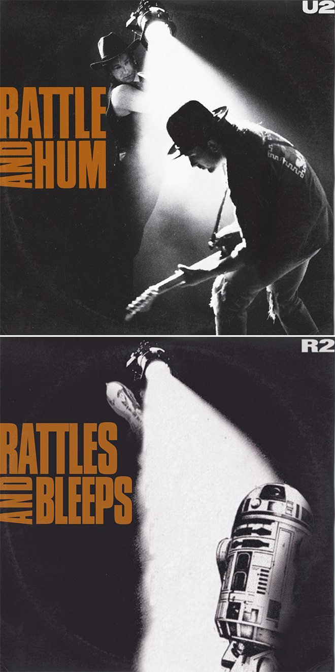 U2 and Star Wars mashup.