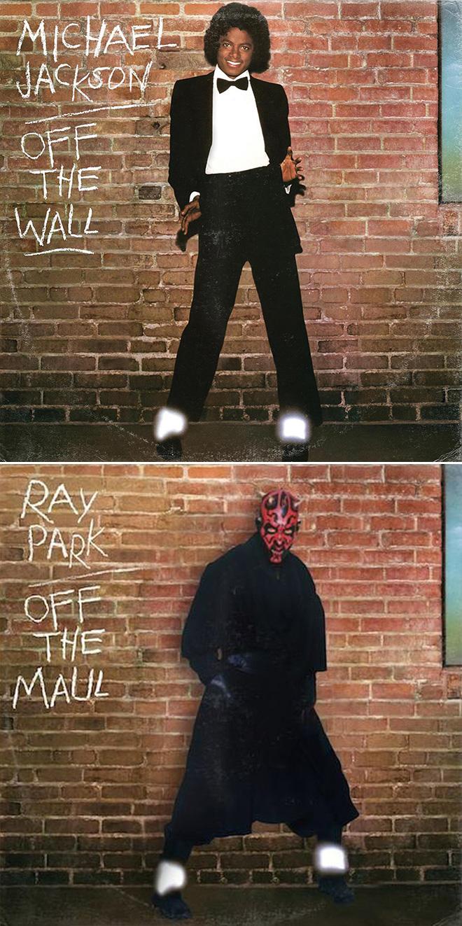 Michael Jackson and Star Wars mashup.
