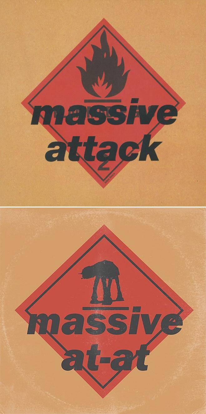 Massive Attack and Star Wars mashup.