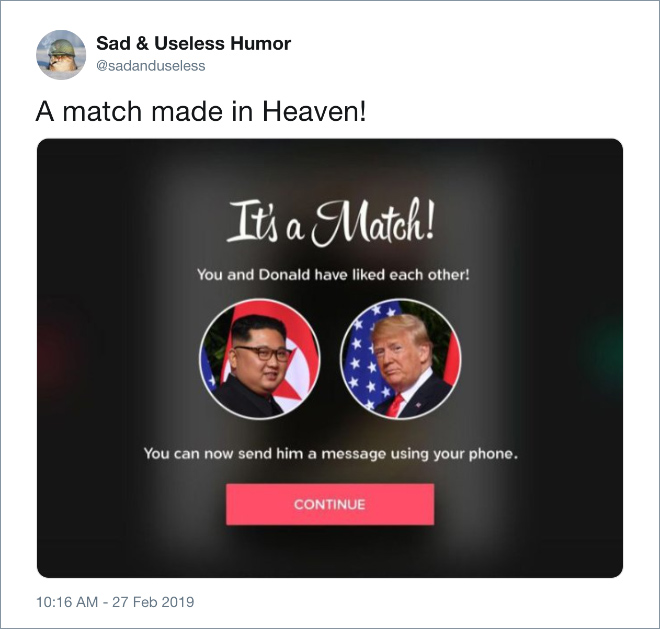 A match made in Heaven!