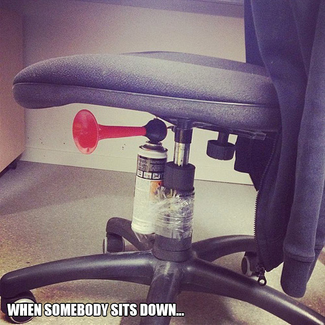 Funny April Fools' Day prank you can easily DIY.