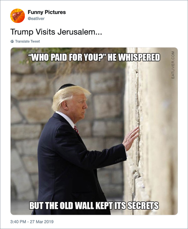 Trump Visits Jerusalem...