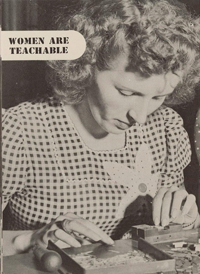 """""""Women Are Teachable"""" Booklet From 1940s"""
