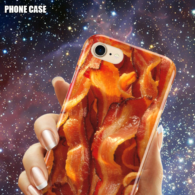 Bacon phone case.