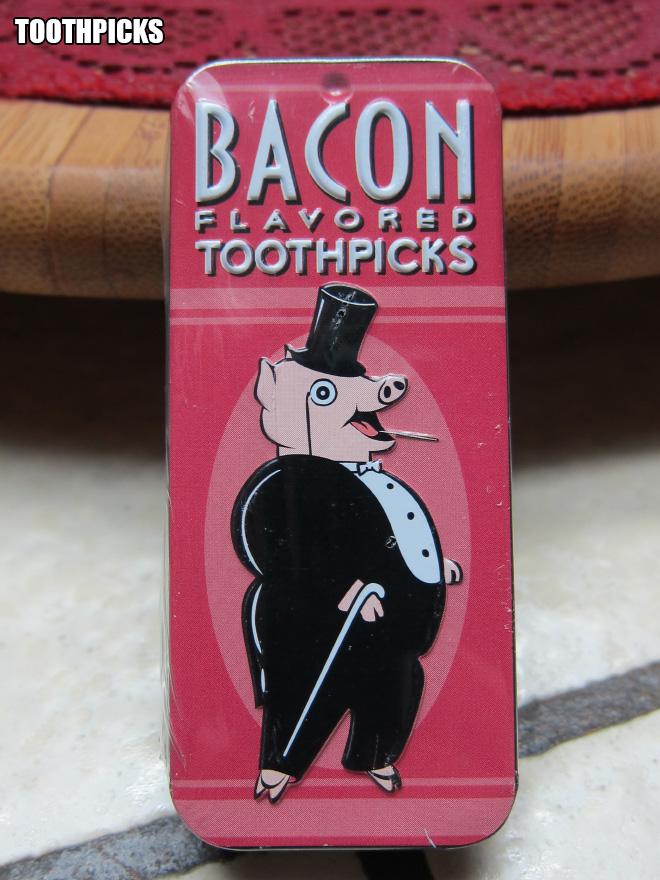 Bacon toothpicks.