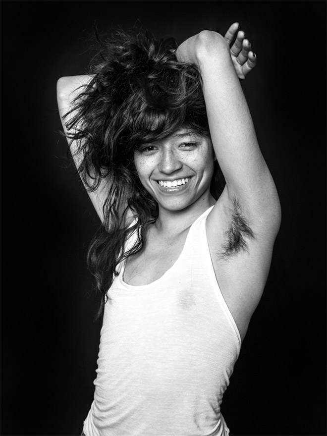 Hairy armpits: beautiful or ugly?