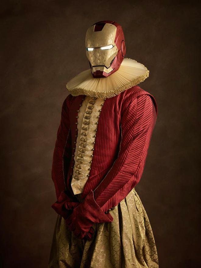 Elizabethan era superheroes and pop-culture icons.