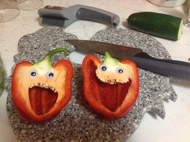 Everything is better with googly eyes!