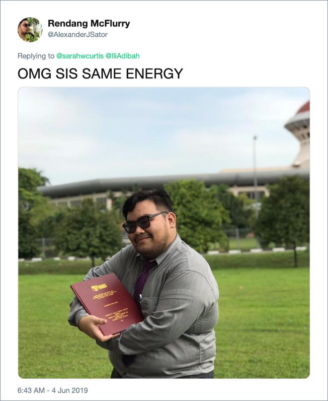OMG SIS SAME ENERGY