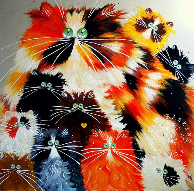 Awesome cat art.