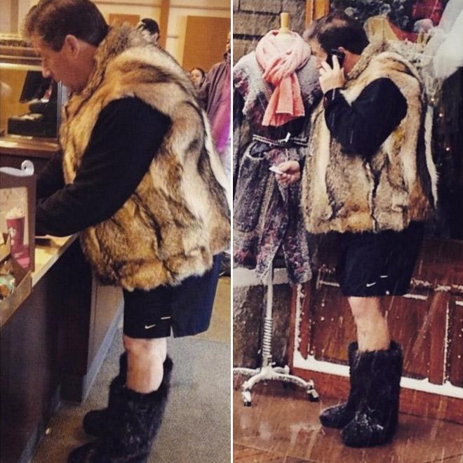 Fashion dad.