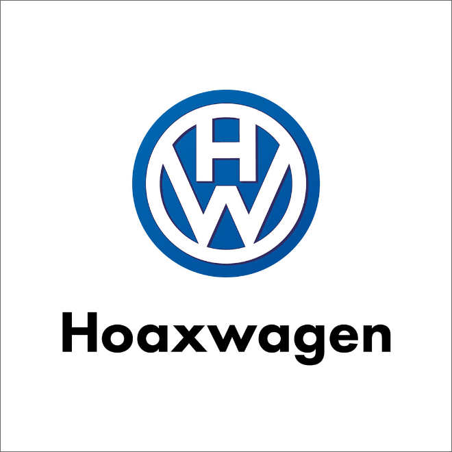 If Volkswagen logo told the truth...