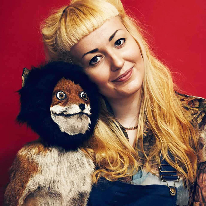 Taxidermist Adele Morse.